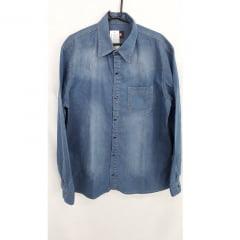 Camisa Jeans elastano Bhoro                                                                                                                                 ( Referência : 6066 )