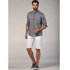 Camisa Modelo Bata manga longa                                                                                                                                     ( Referência : 329481119 )