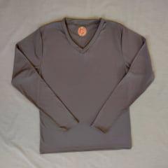 Camiseta Térmica manga longa Decóte V  SLICK                                                                                                          ( Referência 241 )