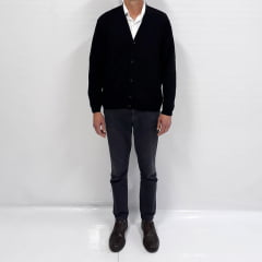 Cardigan Masculino com bolsos                                                                                                                                                                                     ( Referência  : 6069 )